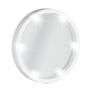 Buy luxury LED Cosmetic Travel Wall Mirror (Set of 4) ByWenko Inc