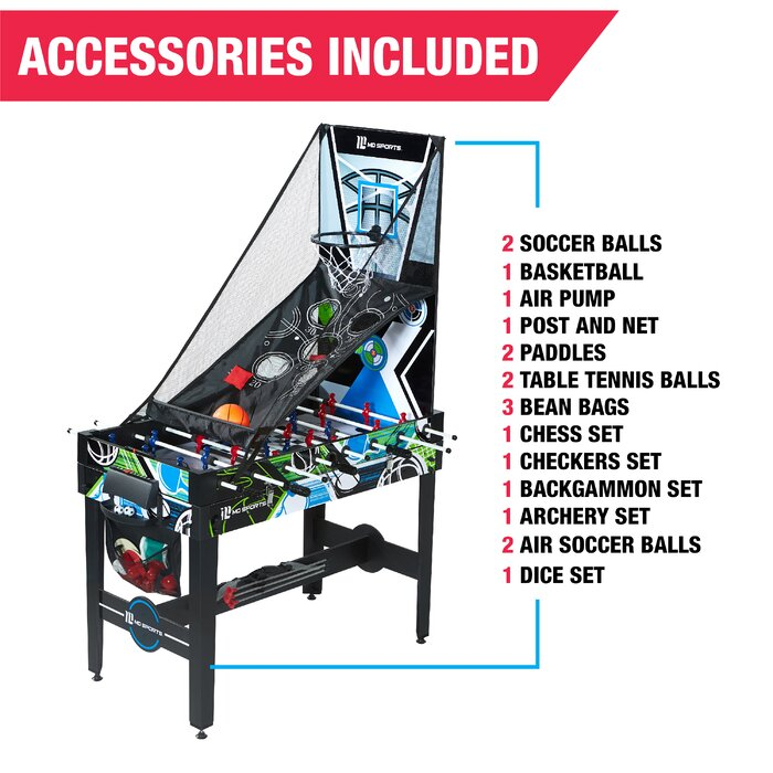 12 In 1 48 Multi Game Table