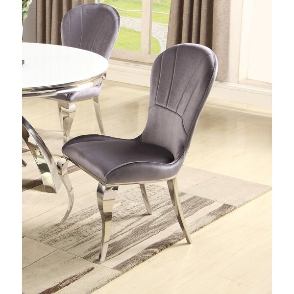 Malachi Upholstered Dining Chair (Set of 2) by Orren Ellis Orren Ellis