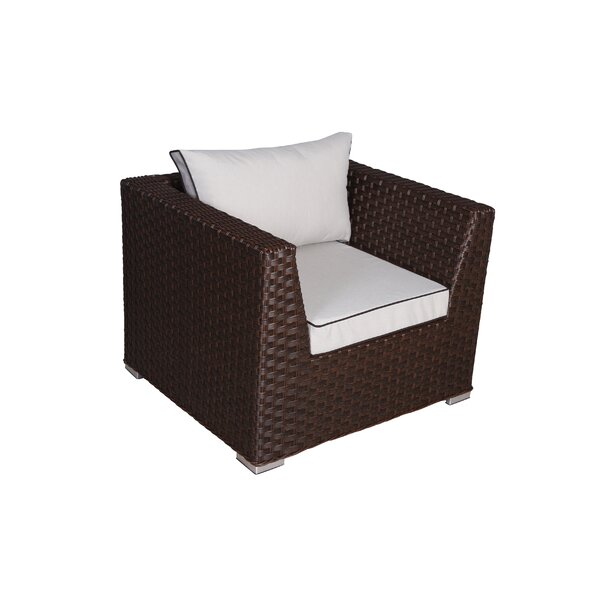 Mesquite Patio Chair with Cushions by Bay Isle Home