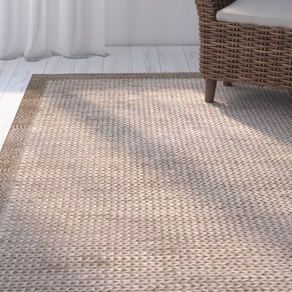 Devonshire Hand-Woven Brown Area Rug by Rosecliff Heights