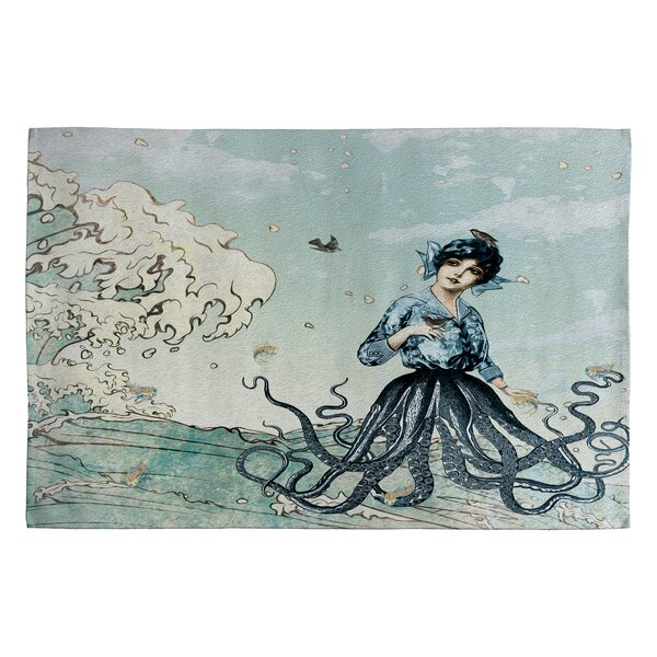 Sea Fairy Novelty Area Rug by East Urban Home
