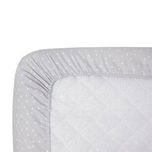 Reviews Grey Stars Sateen Crib Fitted Sheet ByCarter's®