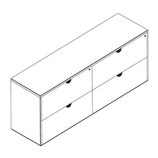 Lemasters Double Lateral File Credenza