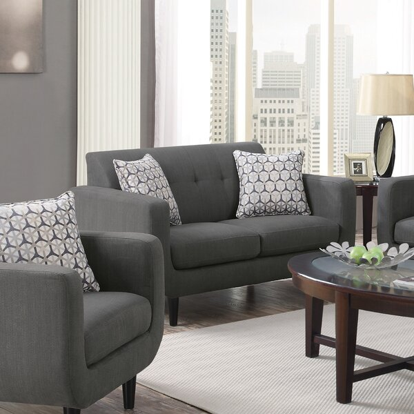 Stay Up To Date With The Newest Trends In Casady Loveseat by Ivy Bronx by Ivy Bronx