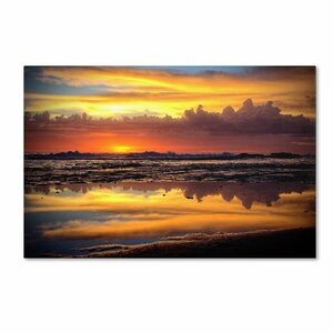 'Morning Reflections' by Beata Czyzowska Young Photographic Print on Wrapped Canvas by Trademark Fine Art