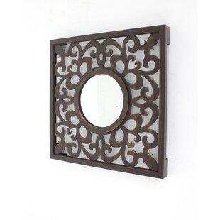 Teton Home Vintage Wall Mirror (Set of 2)