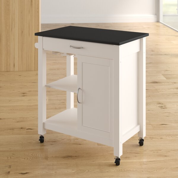 Monongah Kitchen Cart by Latitude Run