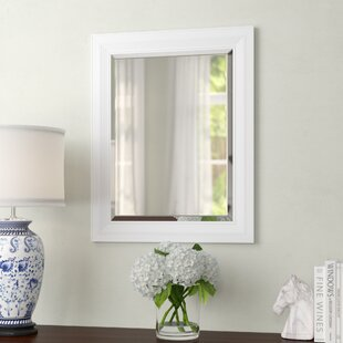 Charlton Home Salmons Classic Decorative Framed Beveled Accent Mirror