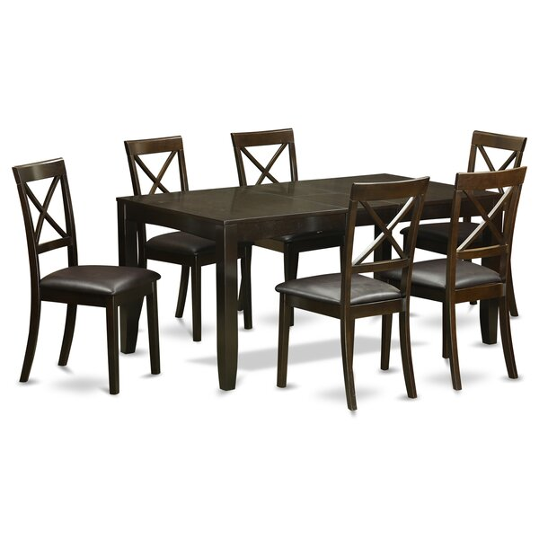 Lynfield 7 Piece Extendable Dining Set By East West Furniture New Design