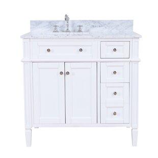 Inexpensive Hailey 36 Single Bathroom Vanity Set ByKitchen Bath Collection