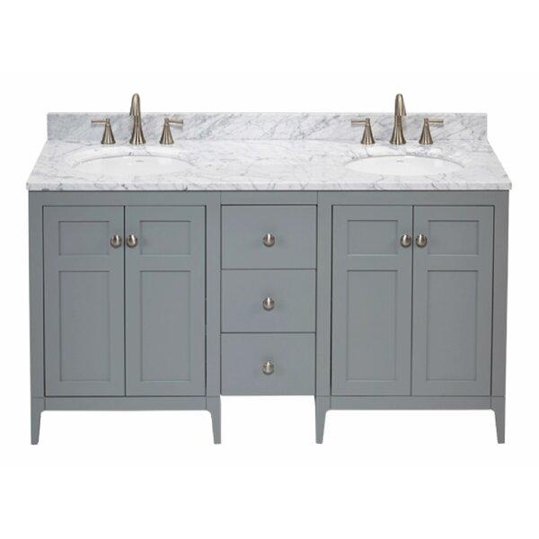 Briella 61 Double Bathroom Vanity Set by Ronbow