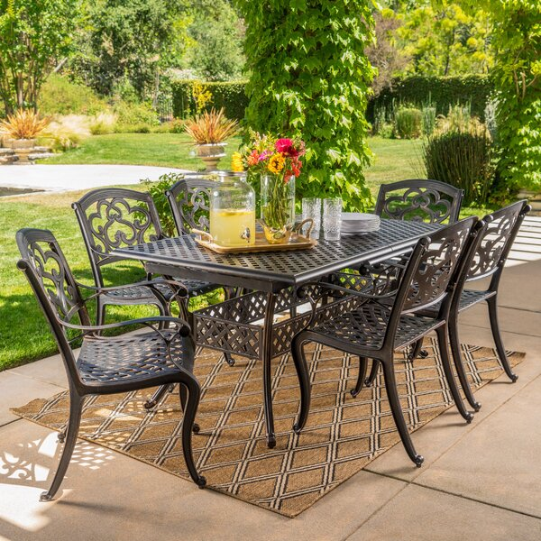 Savannah 7 Piece Dining Set By Darby Home Co