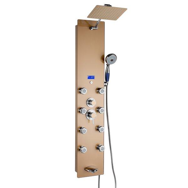 Rainfall Volume Control Adjustable Shower Head Shower Panel by AKDY