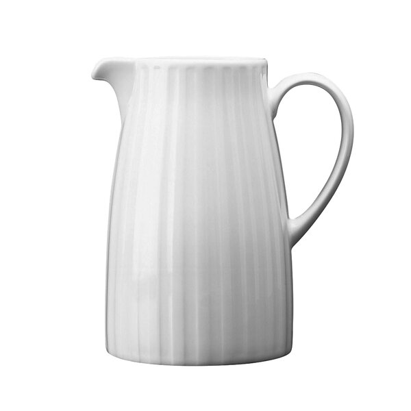 Night & Day Fluted Pitcher by Wedgwood