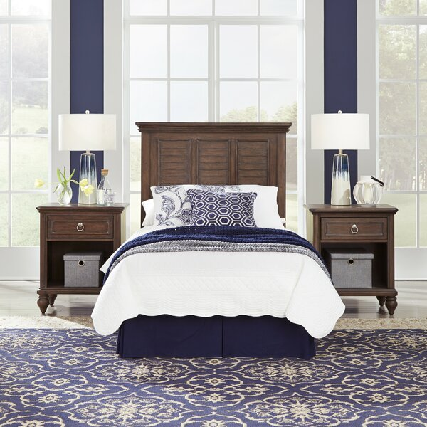 Caitlynn Standard 2 Piece Bedroom Set by Longshore Tides