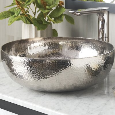 Native Trails Circula Sink Metal Polished Nickel Bathroom Sinks