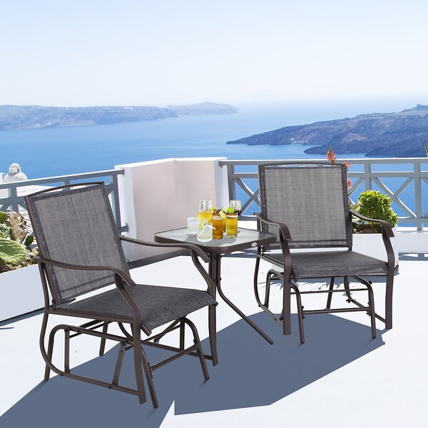 Amika 3 Piece Seating Group by Brayden Studio