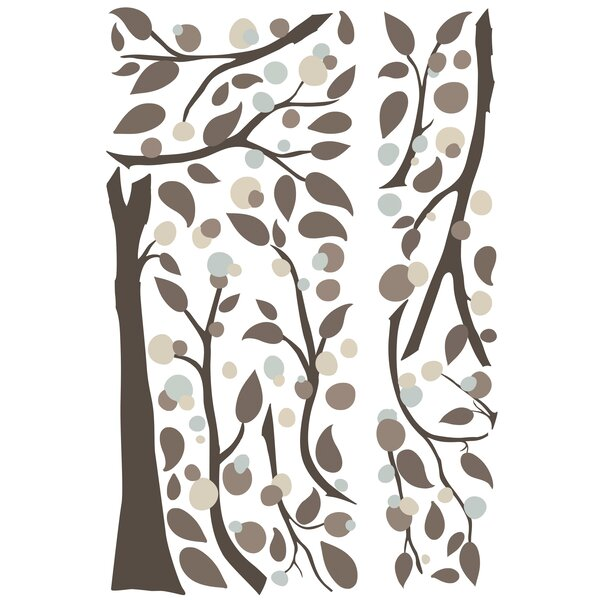 Room Mates Deco Mod Tree Peel And Stick Giant Wall Decal