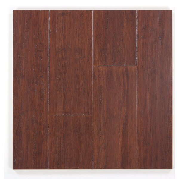 5 Engineered Bamboo  Flooring in Mulled Cider by Bamboo Hardwoods