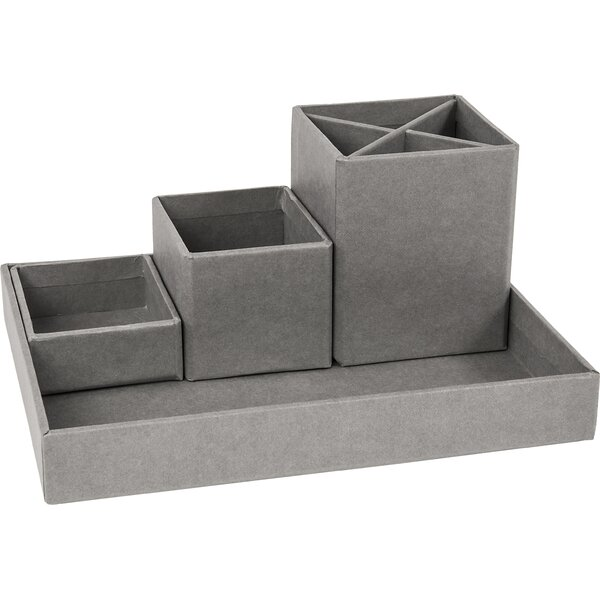 Nesting 4 Piece Desktop Organizer by Rebrilliant