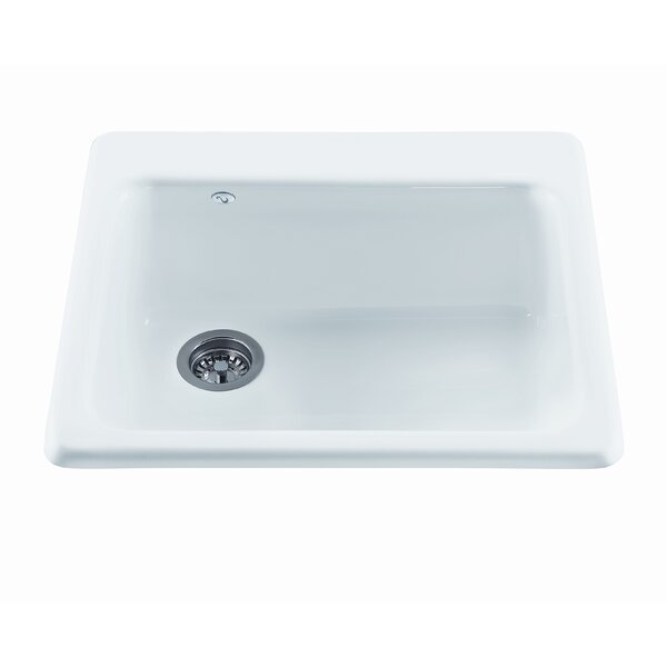 Reliance 25 L x 22.25 W Simplicity Single Bowl Kitchen Sink by Reliance