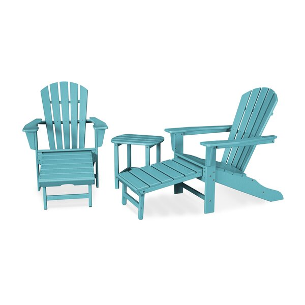South Beach Ultimate 3 Piece Seating Group by POLYWOOD®