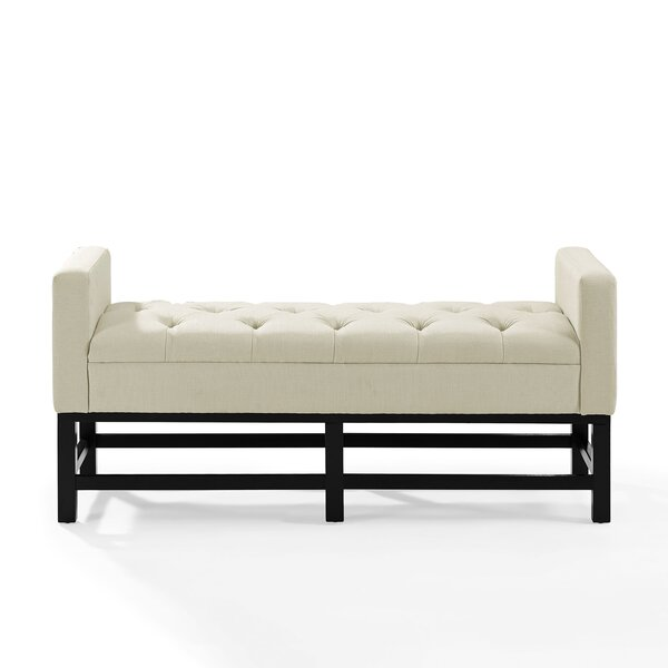 Phinney Upholstered Bench by Andover Mills