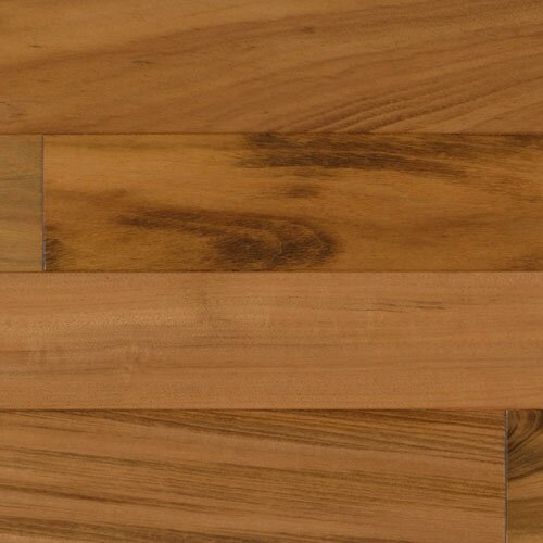 5-1/2 Solid Tigerwood Hardwood Flooring in Natural by IndusParquet