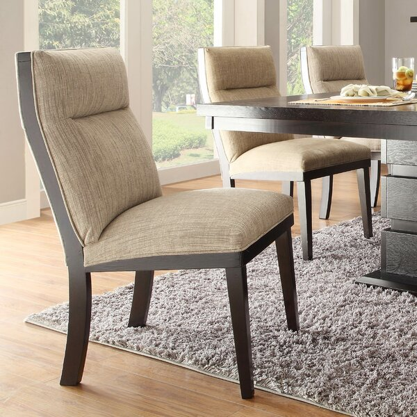 Leonor Upholstered Dining Chair (Set of 2) by Latitude Run