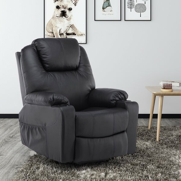 Review Control Reclining Full Body Massage Chair