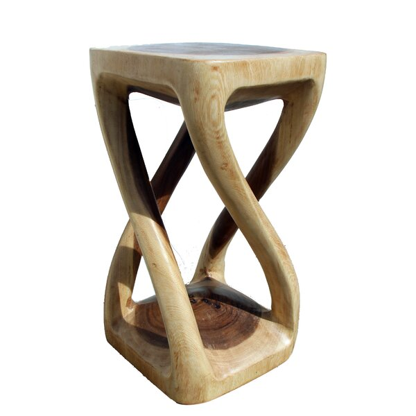 Four Legged Twist Stool by Asian Art Imports