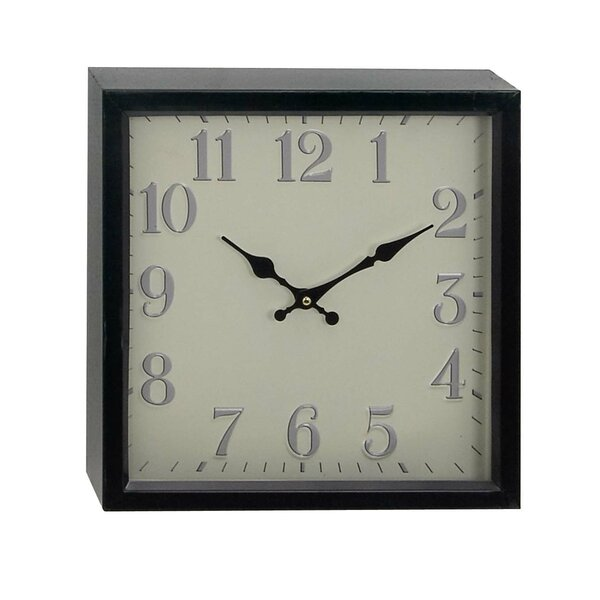 Riem Contemporary Analog Wall Clock by Red Barrel Studio