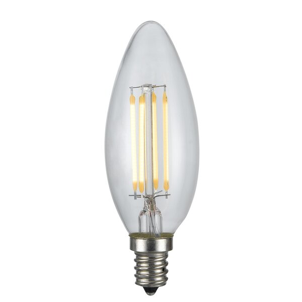 4W E12 LED Edison Candle Light Bulb by Cal Lighting