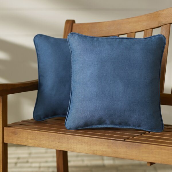 Paulino Outdoor Throw Pillow (Set of 2) by Beachcrest Home