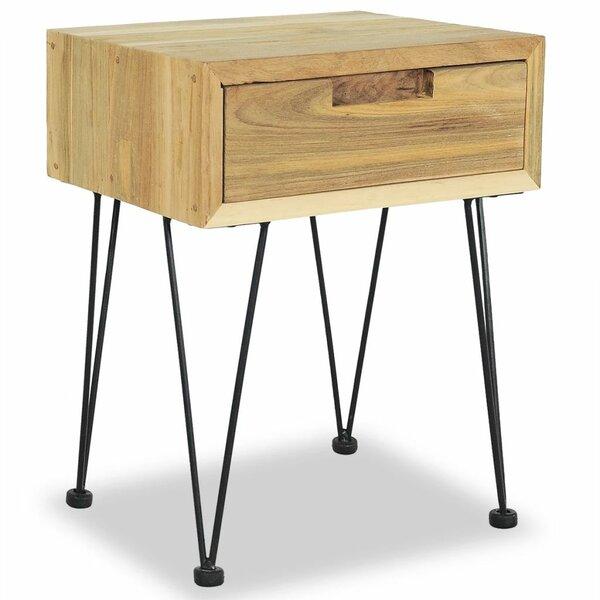 Zita 1 Drawer Nightstand by Union Rustic
