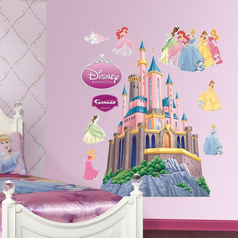 Disney Princess Castle Wall Decal Gallery