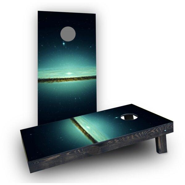Galaxy Cornhole Boards (Set of 2) by Custom Cornhole Boards