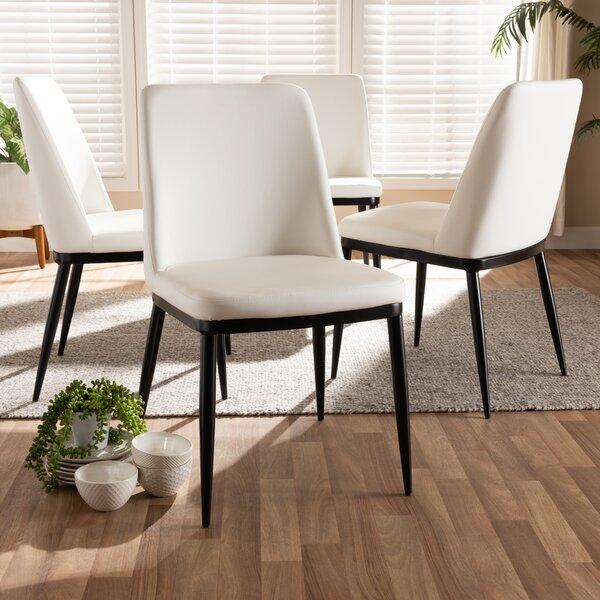 Regnier Upholstered Dining Chair (Set Of 4) By Orren Ellis