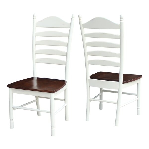 Hallandale Solid Wood Dining Chair (Set of 2) by Breakwater Bay