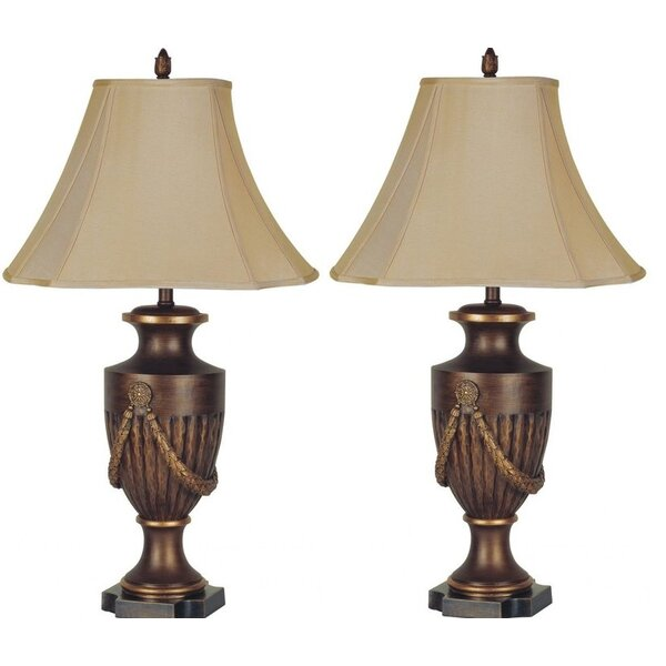 Schaffer 33 Table Lamp (Set of 2) by Astoria Grand