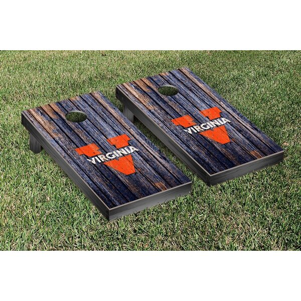NCAA Weathered Version 2 Cornhole Game Set by Victory Tailgate