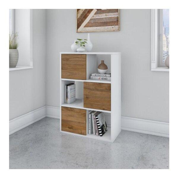 Jamestown Geometric Bookcase By Bush Business Furniture