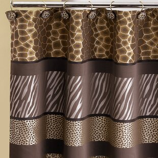 Safari 13 Piece Shower Curtain Set BySweet Home Collection
