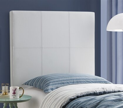 Cleasby Classic Twin Upholstered Panel Headboard by Harriet Bee