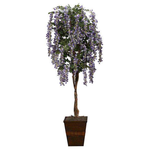 Floor Flowering Tree in Planter by One Allium Way
