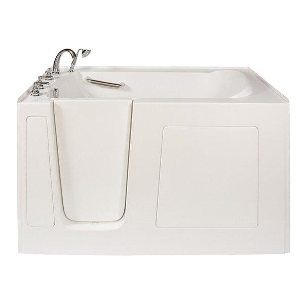 Long 60 x 38 Air Massage Whirlpool Walk-In Tub by Ella Walk In Baths