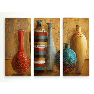 'Vessels of Tabuk' Acrylic Painting Print Multi-Piece Image on Gallery Wrapped Canvas by Bloomsbury Market