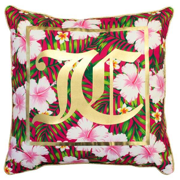 Tropical Oasis Indoor/Outdoor Throw Pillow