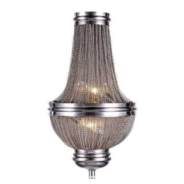 Corundum 2-Light Chandelier by Mercer41